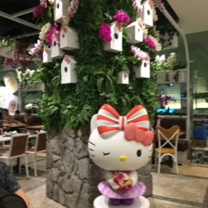 Hello Kitty Cafe at Singapore's Changi Airport