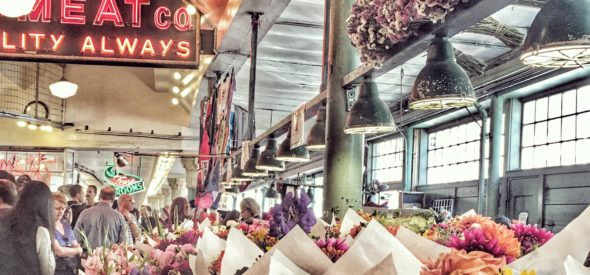 Eat like a local in pike place market in seattle