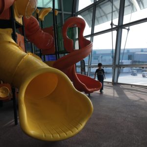 Playground at Singapore's Changi Airport