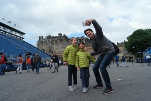 What to wear in Edinburgh Castle in August