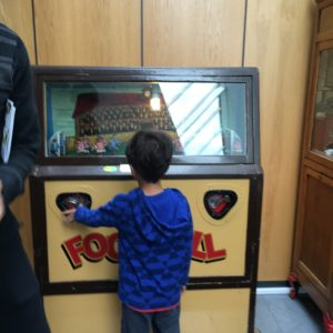 Old fashioned games at National Football Museum