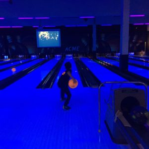 Bowling at Acme Bowl with kids