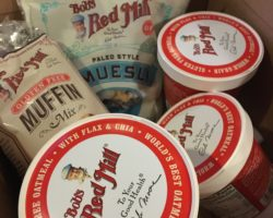 Breakfast foods from Bobs red mill