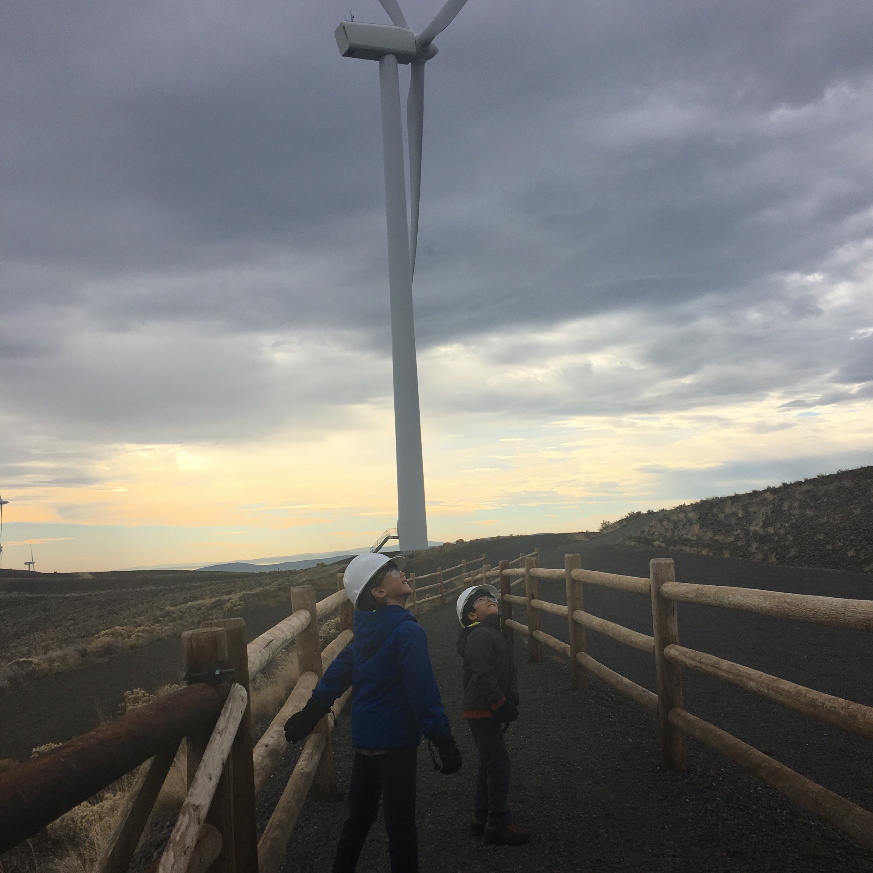 A Windfarm You Can Visit In Washington State (Wild Horse