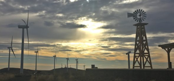 Puget Sound Energy Wild Horse Wind and Solar Facility in Ellensburg