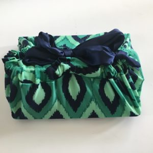 Using lilywrap reusable gift wrapping for holiday shopping
