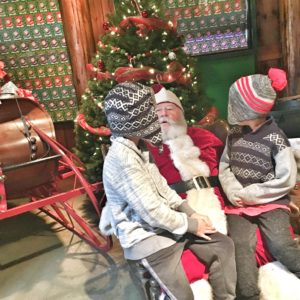 Visiting Santa is one of our favorite holiday traditions