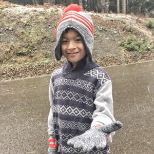 Osh Kosh winter sweater outfit for boys