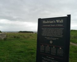 Hadrian's Wall in England