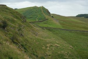 Hadrian's wall on a 10 day road trip with kids in England starting in London