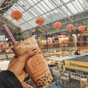 Bubble Tea from Peanuts at Richmond Public Market