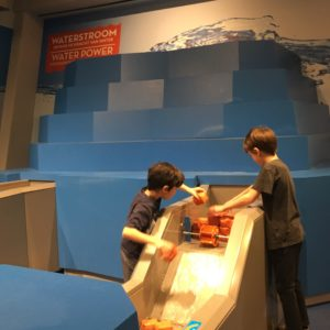 Activities at the Nemo Museum in Amsterdam