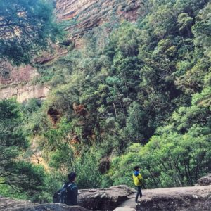 Hiking the Blue Mountains in Australia with kids