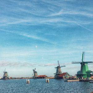 Windmills near Amsterdam