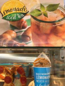 Auntie Anne's Lemonade Iced Tea is a great summer chill