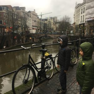 Family travel in Utrecht with 8 year old kids