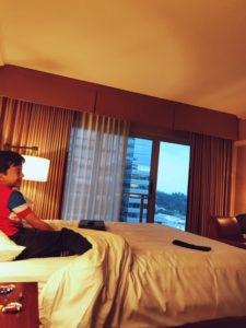 Hyatt Regency in Bellevue with kids