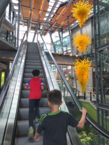Chihuly Glass Sculptue in Bellevue