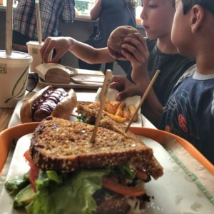 Vegetarian and Sustainable Food at Next Level Burger in Seattle