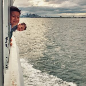 Harbor Cruise with kids with Citypass Boston