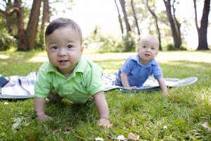 Twin baby pics from Heather K