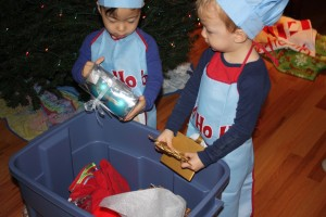 things kids can do to help with christmas