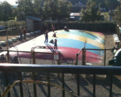 Taves Farm in Vancouver with kids in the fall