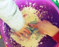 Homemade goo solves everything with kids