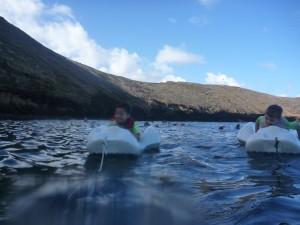 Snorkeling with kids on maui