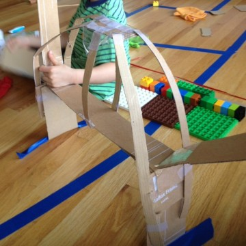 things to make with kids out of cardboard