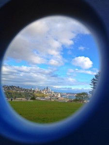 Seattle with kids-places to take photos