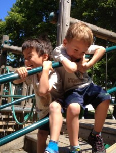 What it's like to be a twin boy mom