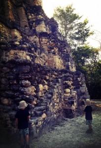 off the beaten path mayan ruins near cancun with kids