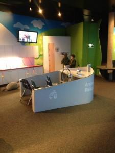 Play area at the Vancouver Aquarium