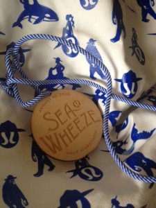 Seawheeze medal from the 2nd run