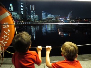 Yokohama with kids and the Cup Noodles Museum