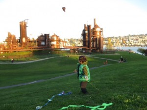 kites at gasworks