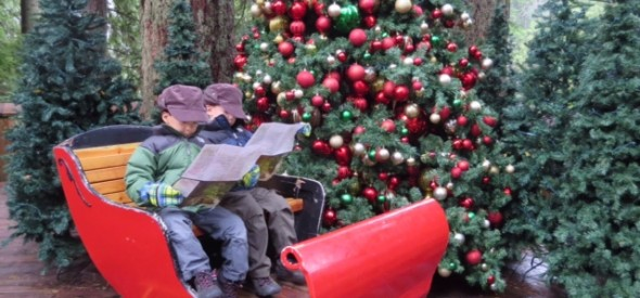 family holiday activiites in vancouver at the capilano suspension bridge