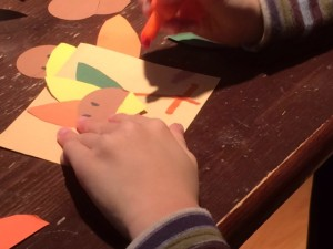 easy turkey preschool craft