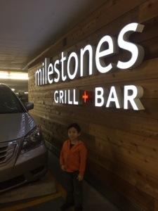 best parking for Milestones crossroads