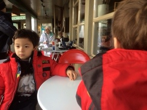 Purebread Bakery in Whistler with kids