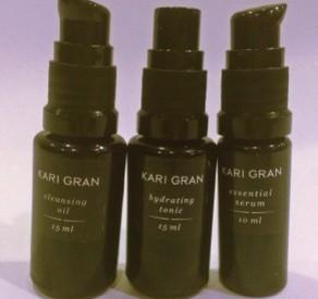 kari gran cleansing oli sample set
