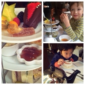 children's high tea at urban tea merchants