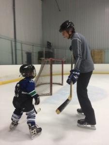 hockey with kids near seattle