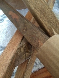 broken furniture in shipping