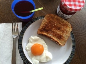 april fool's breakfast