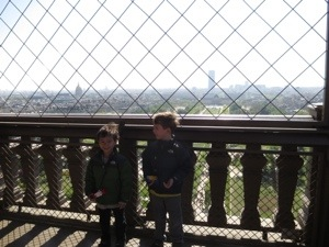 first floor of eiffel tower
