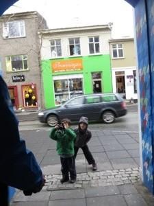 taking pictures in reykjavik