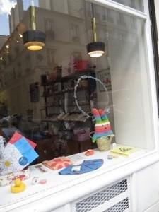 shop window in paris