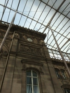 strasbourg train station is old and new and a gorgeous site to see